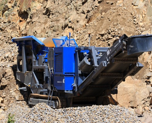 Asphalt Contractors Stone Crusher