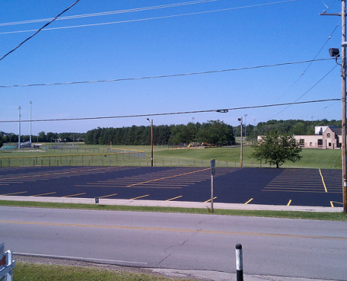 asphalt maintenance racine county school