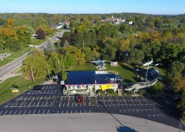 New Asphalt Parking Lot Waterford WI