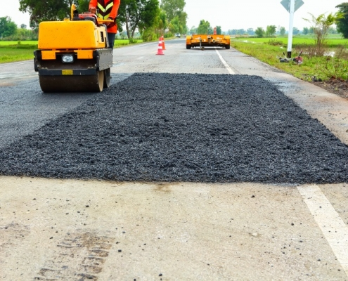 Asphalt Road Patching SE Wisconsin