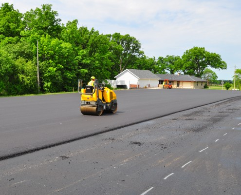 Asphalt Paving of New Lot in North Cape
