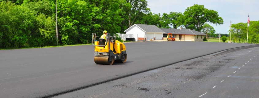Asphalt Paving of New Lot