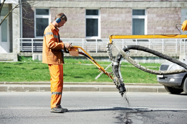 Asphalt Crack Filling Services Milwaukee